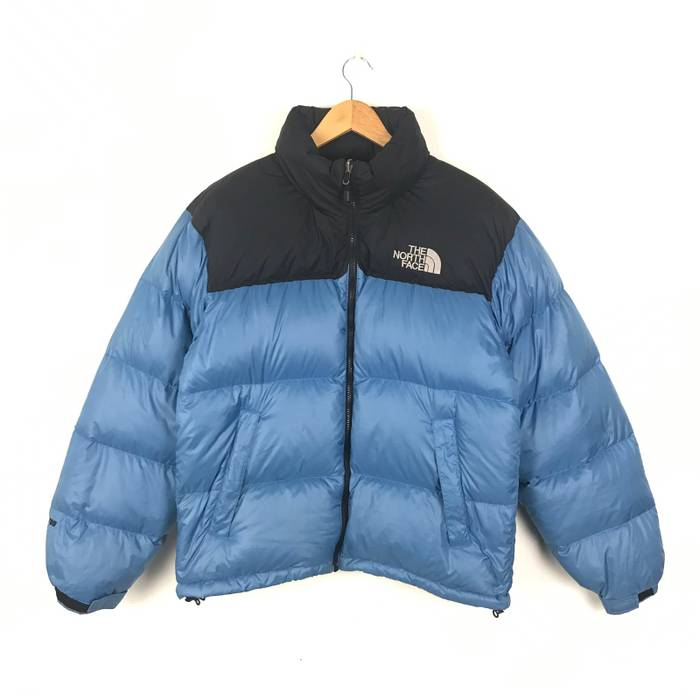 The North Face Vintage The North Face 700 Nuptse Puffer Goose Down Jacket  Dual Tone Colour ad8ed2c2c