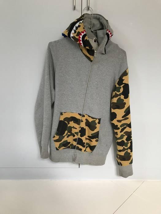 e222c9ba62b6 Bape Bape Shark Hoodie Size m - Sweatshirts   Hoodies for Sale - Grailed