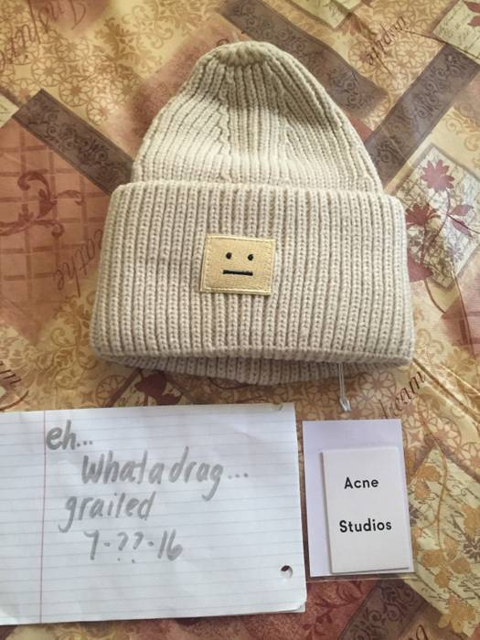 Acne Studios Pansy S Hat Size one size - Hats for Sale - Grailed 3212c5291