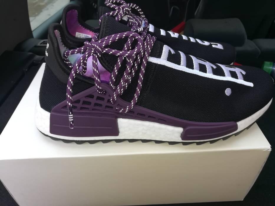 03b5d79d5 Pharrell. Adidas Human Race NMD Pharrell Williams Holi Festival Black  purple size 10