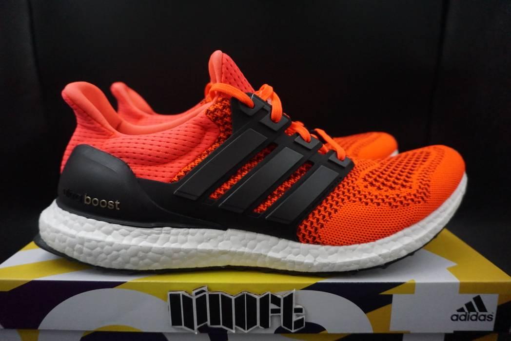 4822e1893 Adidas Adidas Ultra Boost 1.0 Solar Red Black White B34050 Size US 11   EU  44