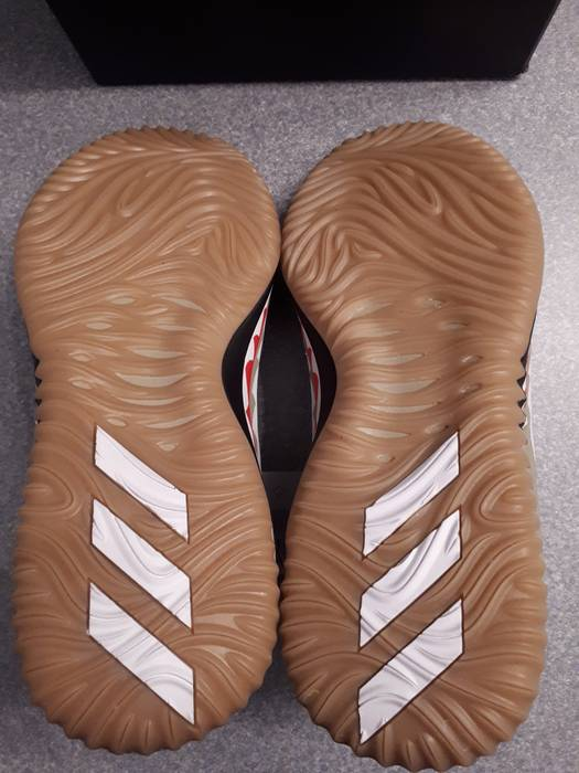 quality design dd069 09303 Adidas Bape x Adidas Dame 4 (Green Camo Colorway) Size US 9  EU