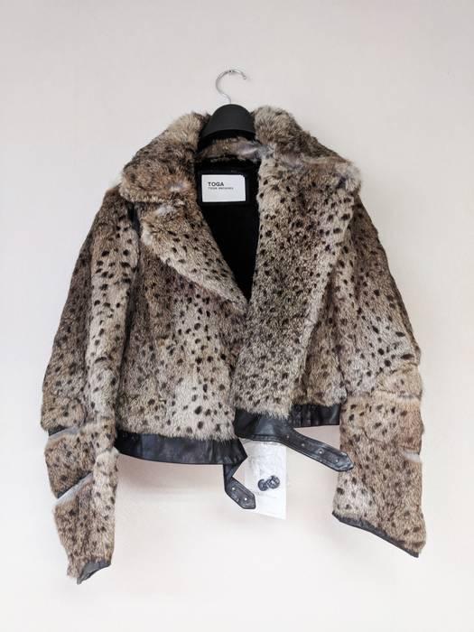 d5ce8274fec0 Toga Toga Archives Leopard Print Fur Coat Size xxs - Heavy Coats for ...