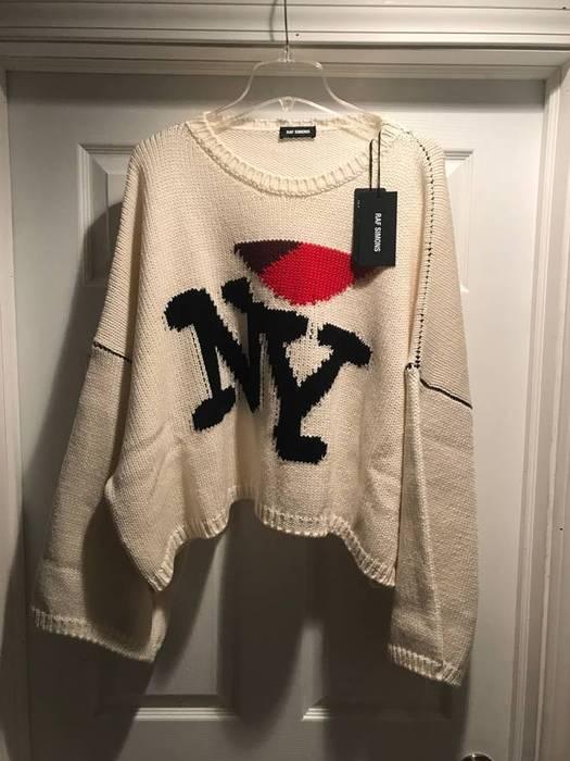 Raf Simons Last Day Raf Simons Oversize I Love Ny Sweater Size