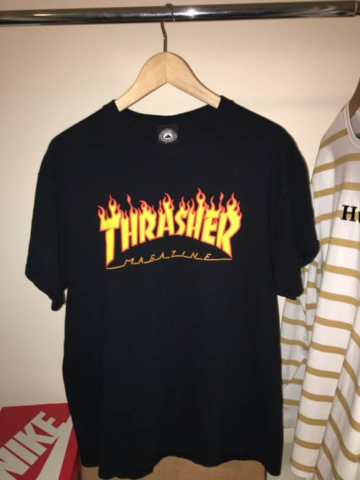 736ff7640267 Thrasher Thrasher Flame Logo Tee Size m - Short Sleeve T-Shirts for ...