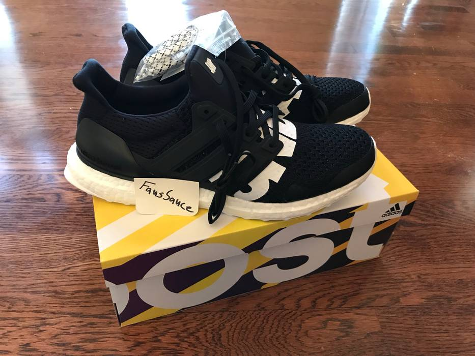 296c2319801 Adidas Undefeated Ultraboost - Black - Adidas Ultra Boost Size US 10   EU 43