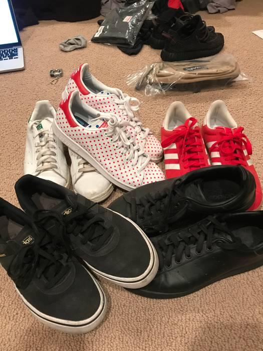 Adidas Adidas Gazelle Stan Smith Busenitz Pharrell Williams BUNDLE 5 PAIRS  Size US 10   EU bac84f83edf8
