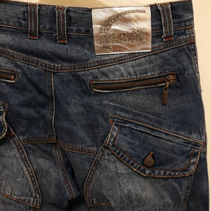 321a073ba0 Just Cavalli JustCavalli by Roberto Cavalli Jeans Denim Cargo Pants ...