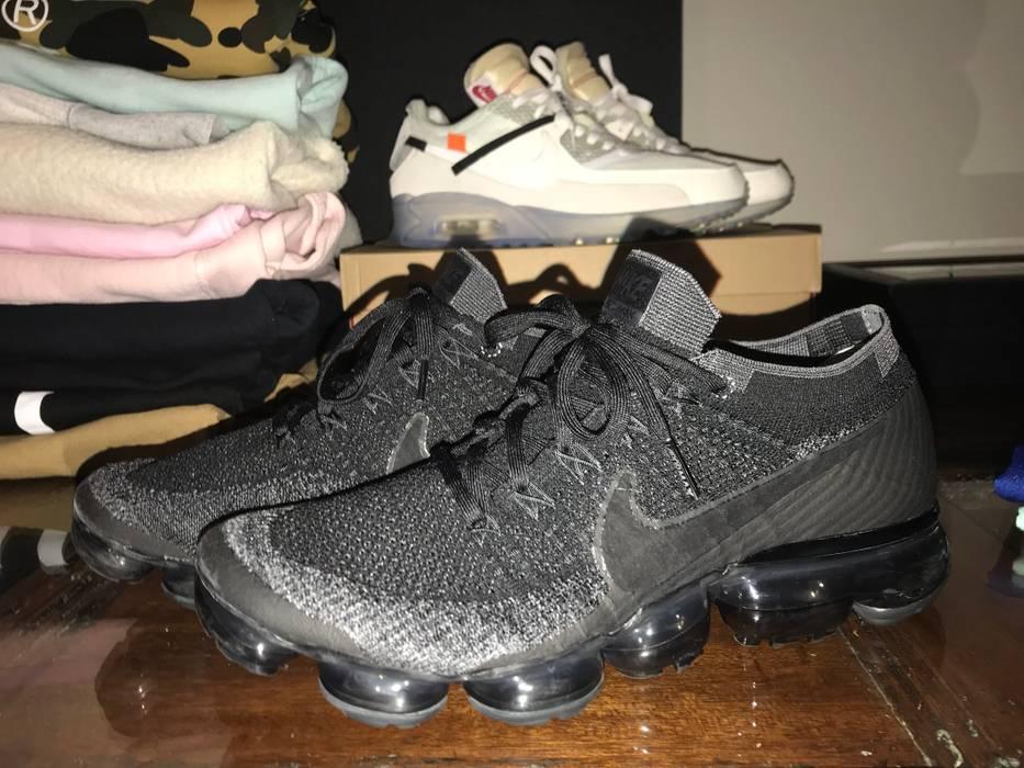 cf856d7edf1 Nike Nike Air Vapormax Flyknit Triple Black 1.0 Size 9.5 - Low-Top ...