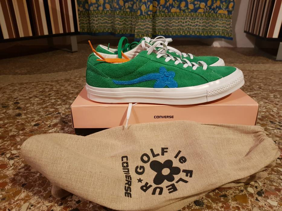 08e575325d6e Converse Converse One Star Ox Tyler The Creator Golf Le Fleur Jolly Green  Size US 15