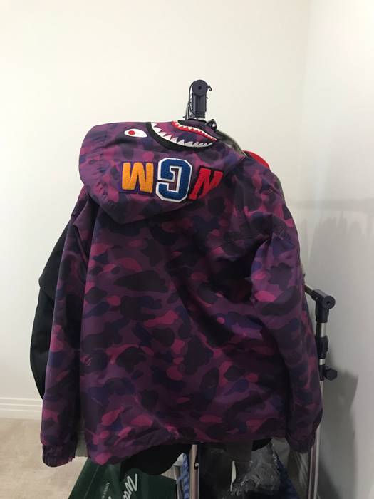 c94e9c7fcaf5 Bape Bape Shark Snowboard Jacket Size l - Parkas for Sale - Grailed
