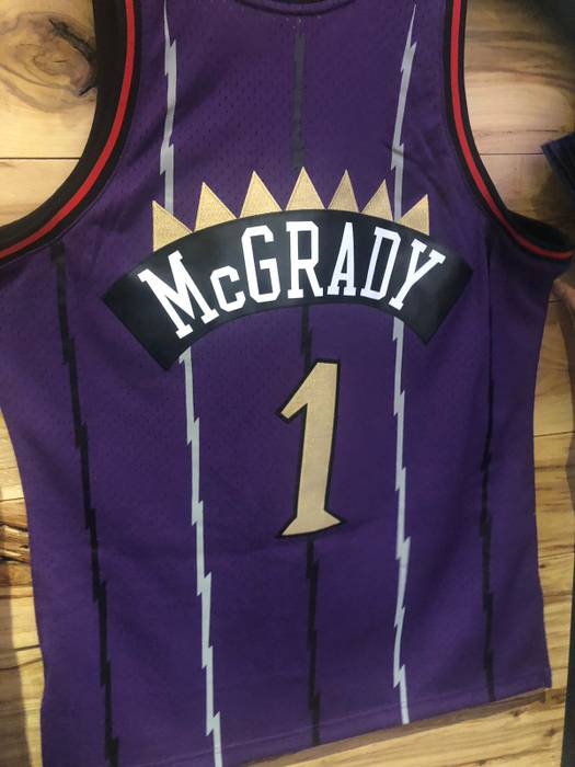 e0ecdafc0afd Mitchell   Ness Raptors 2019 Chinese New Year JERSEY TRACY MCGRADY LIMITED  ONLY EMPLOYEES Size US