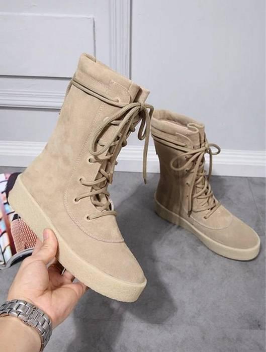 80991e930168e Yeezy Season. DEADSTOCK Kanye West Season 2 Crepe Boots. Size  US 11   EU 44