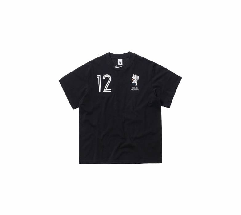 4de7e552d5 Nike Nikelab x Off White Mercurial Nrg Tee Black Size s - Short ...