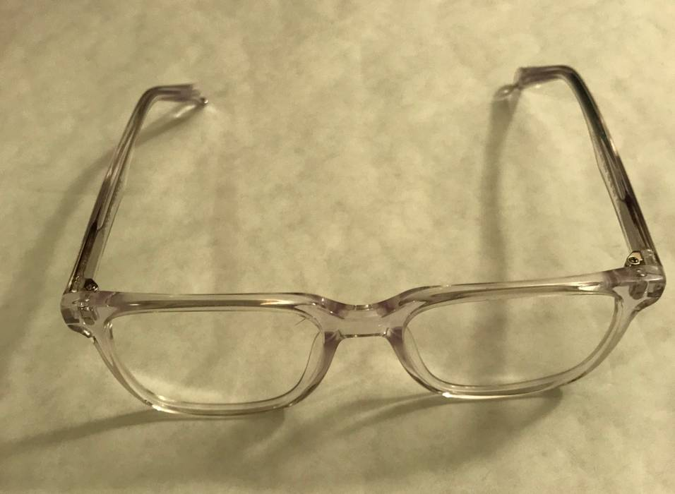 0349770e4f3d Warby Parker BRAND NEW Chamberlain Eyeglasses Crystal Clear With ...