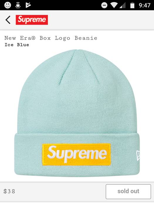 Supreme ice blue Bogo beanie f w 2017 Size one size - Hats for Sale ... c9c418ba8af