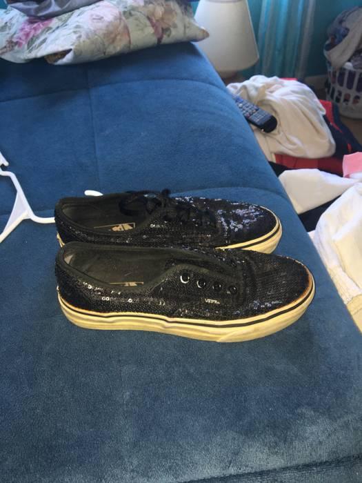 8b866f4873b9 Vans. Vans era glitter black shoes men size 5