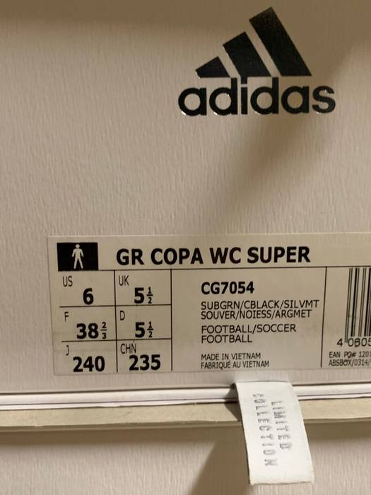 677ec7ae9185 Adidas GOSHA RUBCHINSKIY X ADIDAS COPA WC Shoes Size US 6   EU 39 - 6