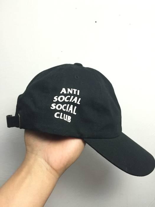 Antisocial Social Club ASSC WEIRD CAP BLACK Size one size - Hats for ... 6b6639094bd