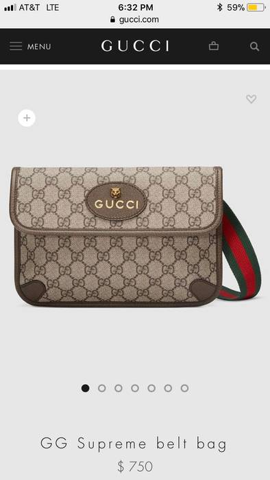93fd1721d19 Gucci Gucci Messenger Belt Bag Size one size - Bags   Luggage for ...