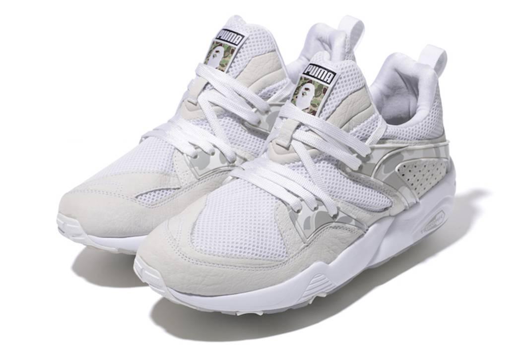 Bape BAPE BLAZE OF GLORY PUMA Size 8.5 - Low-Top Sneakers for Sale ... 105b2a1409