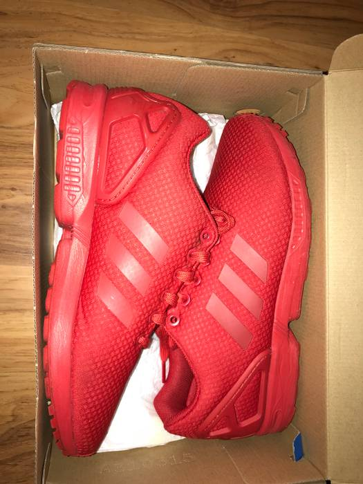 54f56d87e14a0 Adidas Adidas Zx Flux All Red Size 9 - Low-Top Sneakers for Sale ...