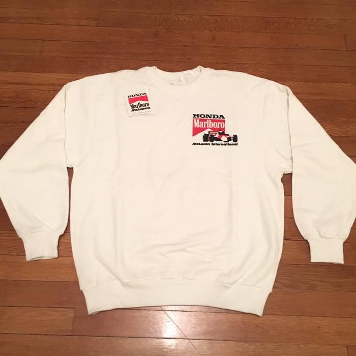 marlboro honda mclaren formula 1 crewneck size m - sweatshirts