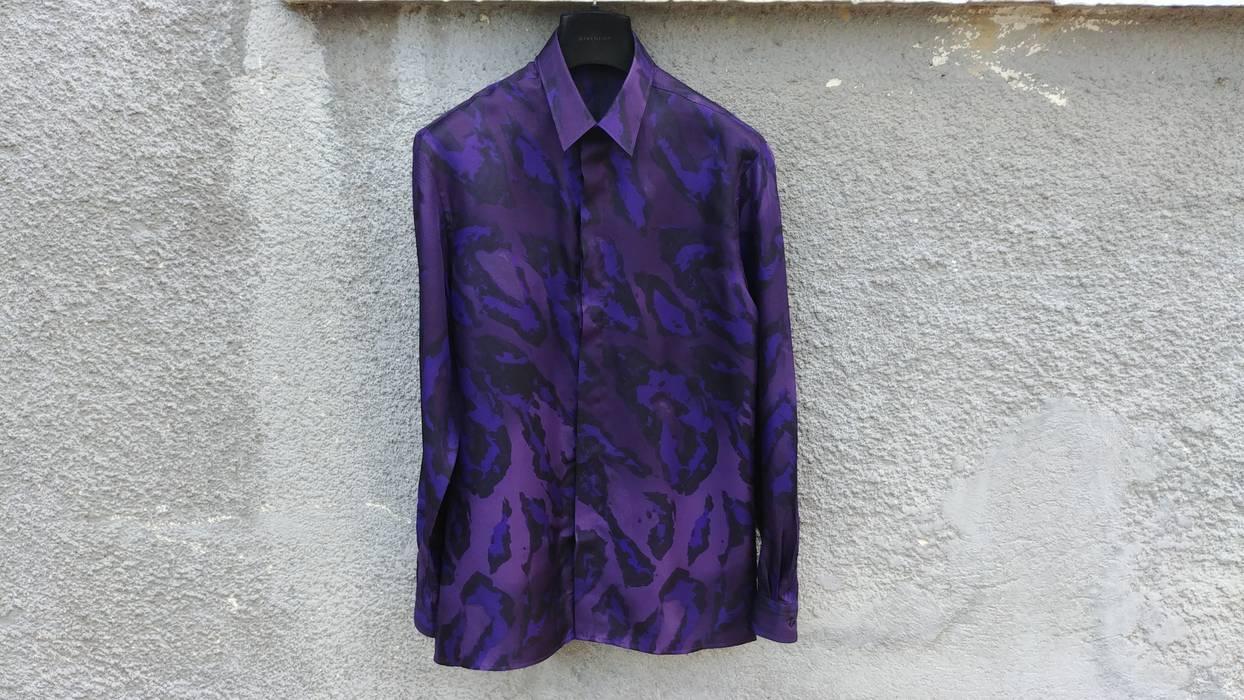 Versace 695 Versace Collection Purple Leopard Fantasia Baroque