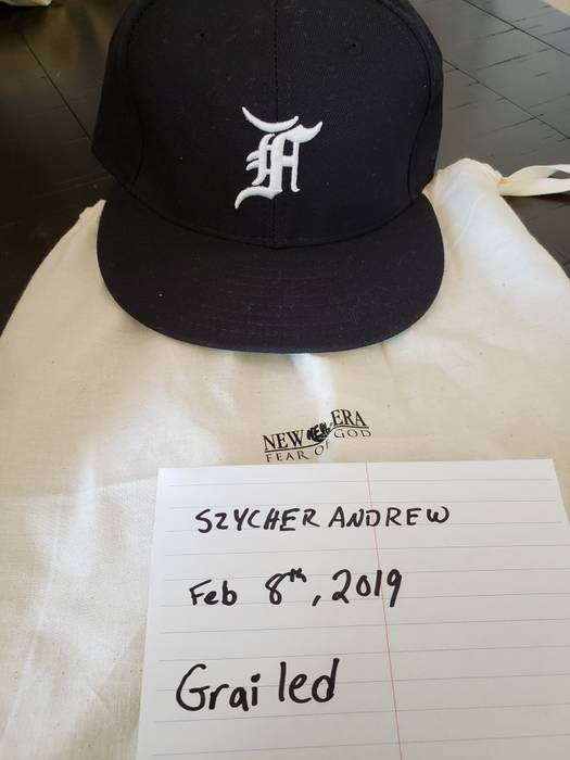 0f5d0ade7f1 Fear of God Fear of God x New Era 5th Collection Size one size ...