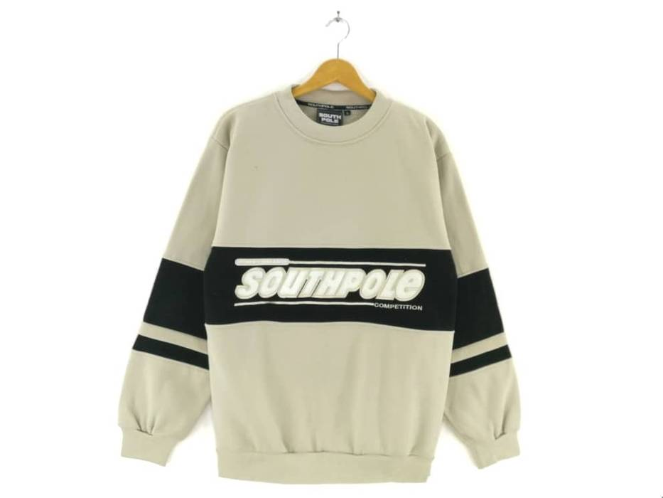 a97072124d South Pole Rare!!! Southpole Crewneck Big Spellout Multicolour Sweatshirt  Embroidery Pullover Jumper Fashion