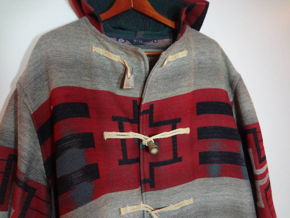 88675db386 Polo Ralph Lauren Duffle Coat Aztec Navajo Size xl - Heavy Coats for ...