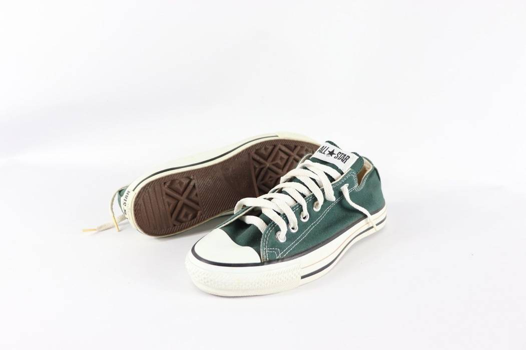 111f65f5e476 Vintage Vintage New Converse Mens 6 Womens 8 Chuck Taylor All Star Lo Top  Shoes Green