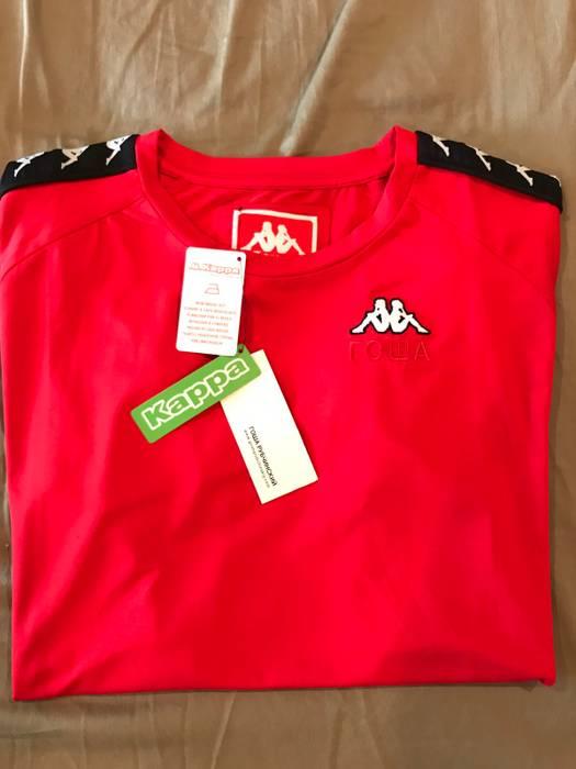 Gosha Rubchinskiy Gosha Rubchinskiy x Kappa T-Shirt Red Size US L   EU 52 8505df8ef