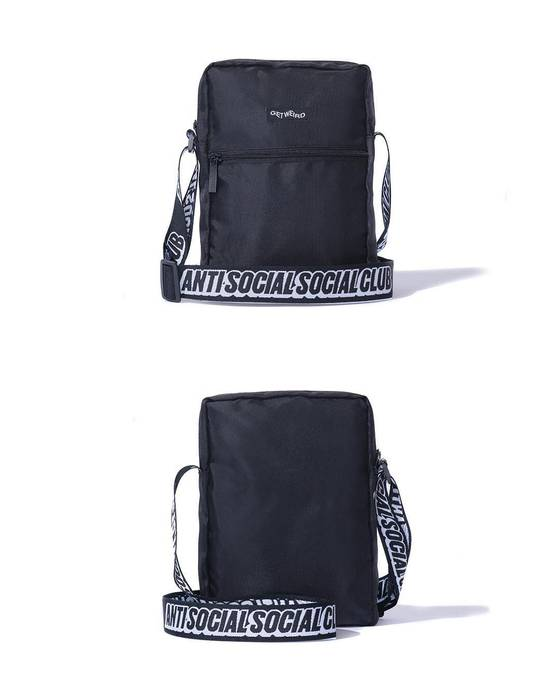 5b9e5082161c Antisocial Social Club ASSC Black Shoulder Bag Size one size - Bags ...