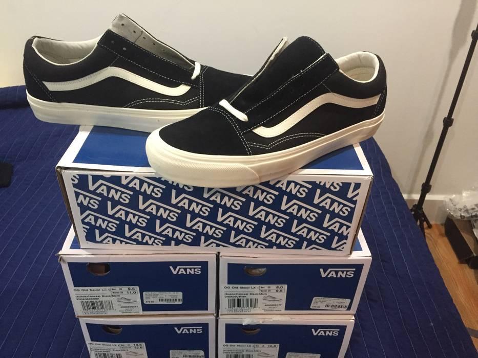 c349afd873 Vans Vans Vault Old Skool Black marshmallow Size 11.5 - Low-Top ...