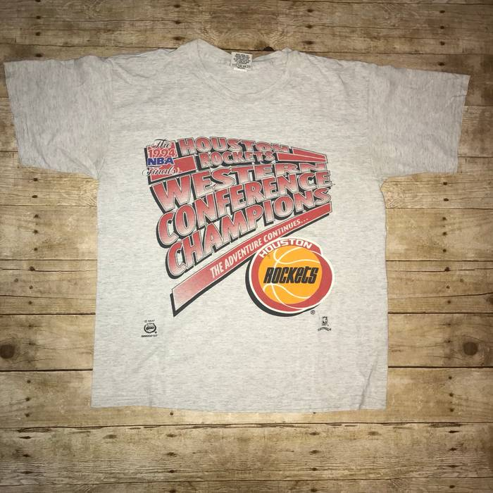 e7bd29b9ccf Vintage Vintage Houston Rockets Nutmeg Tee Size xl - Short Sleeve T ...