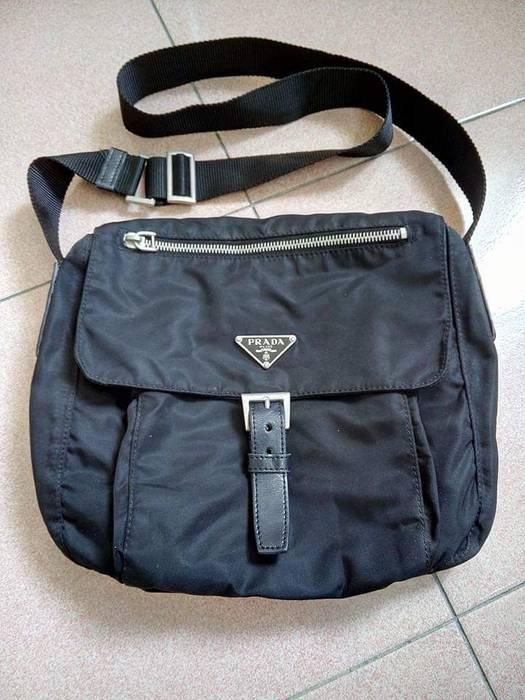 Prada Authentic Prada Nylon Shoulder Bag Size one size - Bags ... 8535808e41527