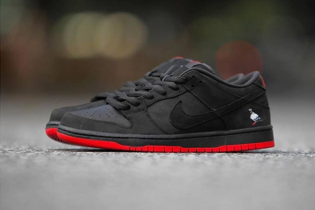 Nike SB DUNK LOW PRO BLACK PIGEON (Size 10) Size 10 - Low-Top ... a568c4218a34