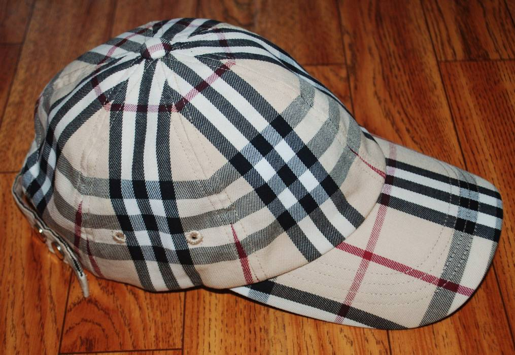Burberry Nova check cap Size one size - Hats for Sale - Grailed 167586c7ba0