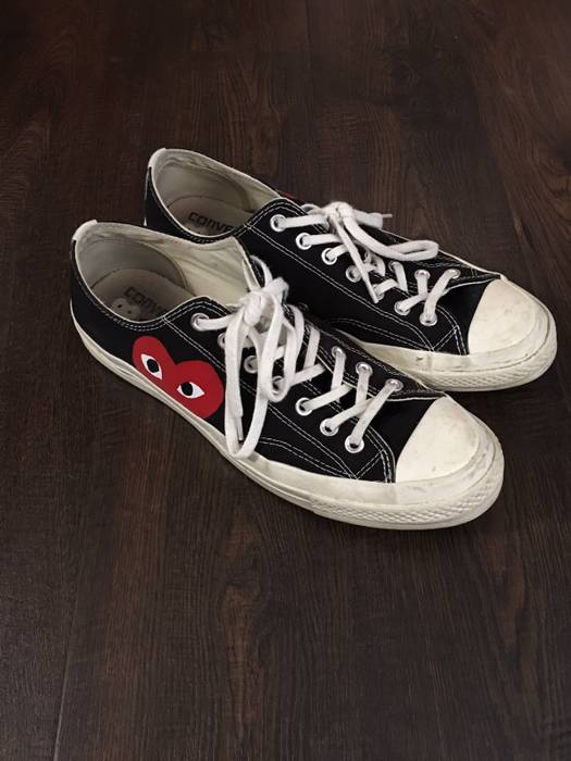 9d796baa11d3 Converse CDG Play Converse Size 10 - Low-Top Sneakers for Sale - Grailed