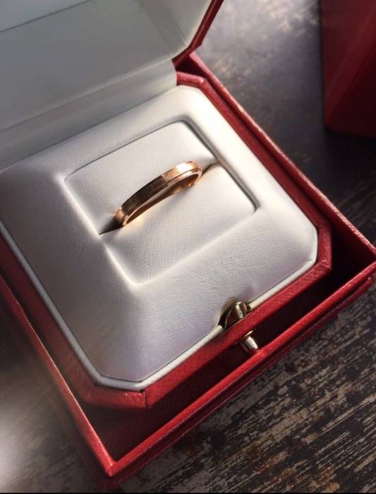Cartier Cartier D Amour Wedding Size 46 Jewelry Watches For Sale