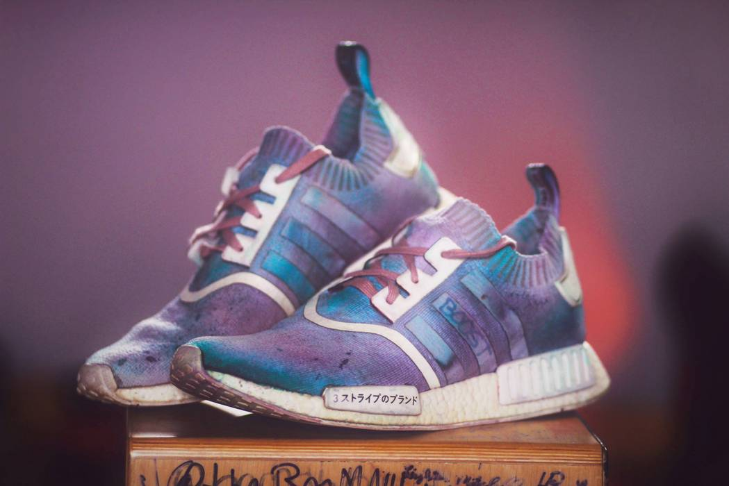 3575fcc1cba5 Adidas Adidas NMD R1 PK Japan Pack Cotton Candy Custom Size 11.5 ...