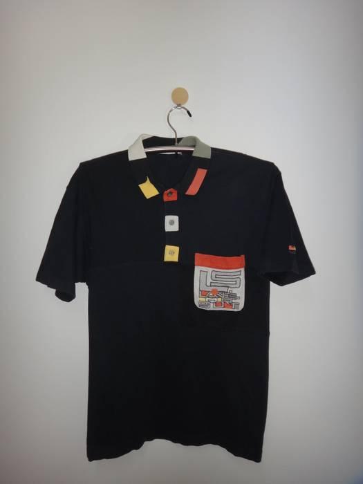 Lancel Sport Paris Polo Shirt Embroidered Logo Fashion Designer