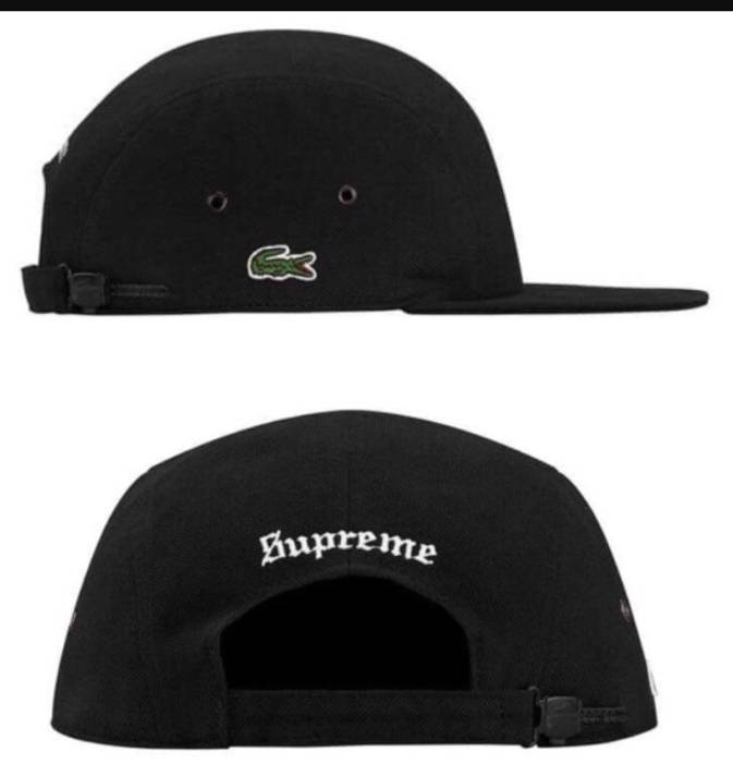 Supreme Supreme Lacoste Hat Size one size - Hats for Sale - Grailed 4d09fbca43a