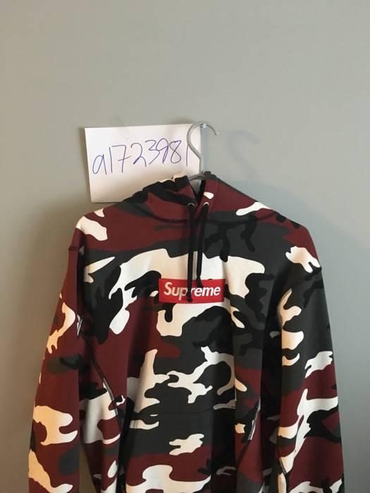 af7d5bef9853 Supreme Supreme Red Camo Box Logo Hoodie Size l - Sweatshirts ...