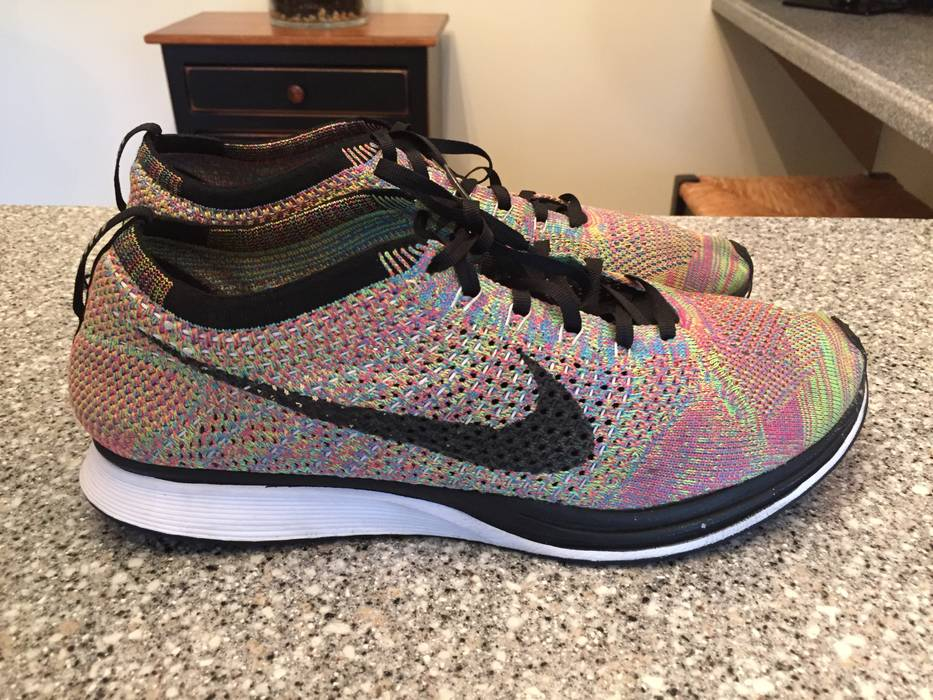 8107458d31ab Nike Flyknit Racer Multicolor Size 12 - Low-Top Sneakers for Sale ...