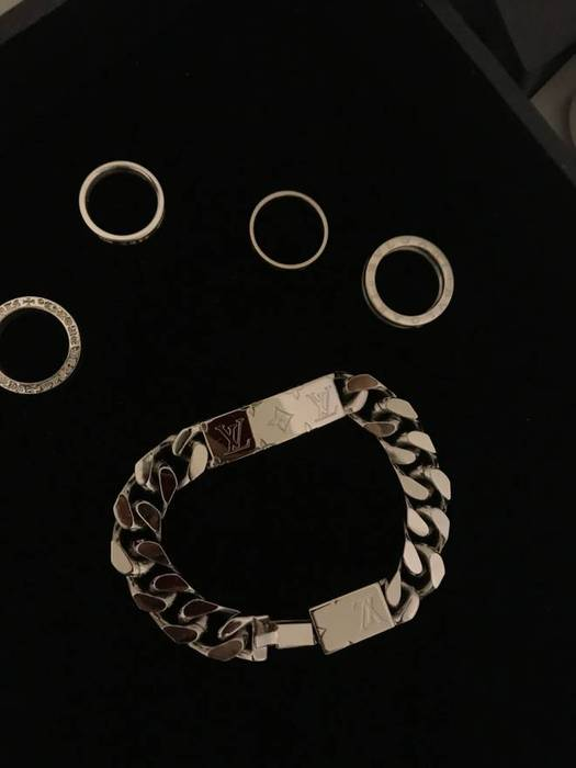 Louis Vuitton Monogram Chain Bracelet Size One 1