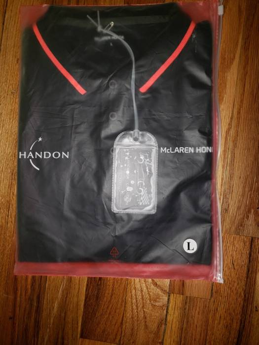 honda mclaren x honda x chandon size l - polos for sale - grailed
