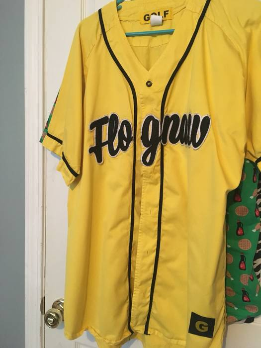 1ca1b91689f5 Golf Wang Flognaw Baseball Jersey Size l - Jerseys for Sale - Grailed