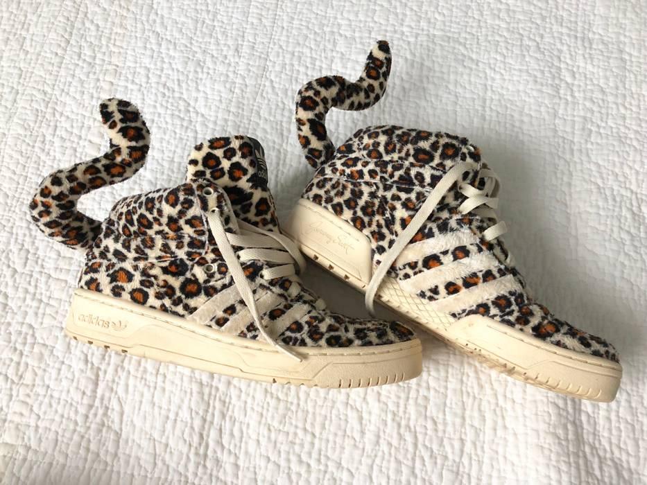 info for affa9 8bdc5 Adidas Adidas X Jeremy Scott Leopard Tail Sneakers Size US 7.5   EU 40-41